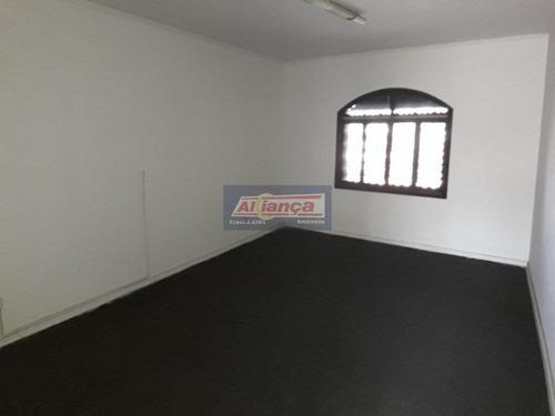 Sobrado Comercial Para Locação, Picanco, Guarulhos - So0757. - Ai3859