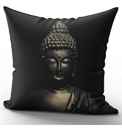 Imagem 1 de 2 de Capa De Almofada 40x40cm Budismo Buda Namastê Mod 3