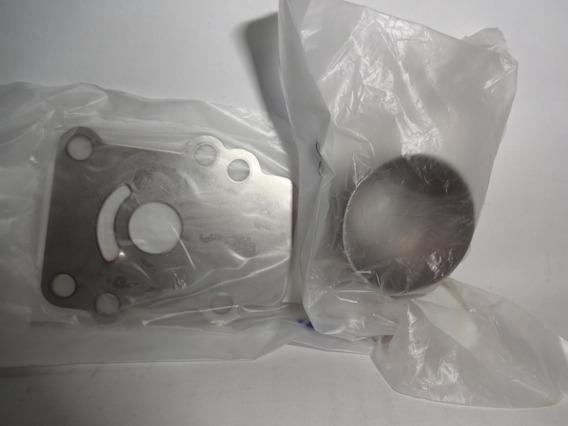 Kit Copo+placa Bomba Água Yamaha 2t 15hp Até 1996 Dmhs