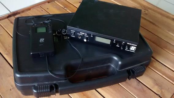 In-ear Staner Swm-1e / Swm-1r Monitor Sem Fio Profissional