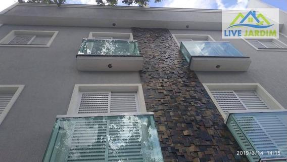 Apartamento Cobertura De Fundos, Vila Alpina, Santo André - Co0152
