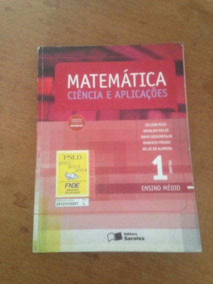 Matemática Ciência E Aplicações Gelson Iezzi 1 E 2 (saraiva)