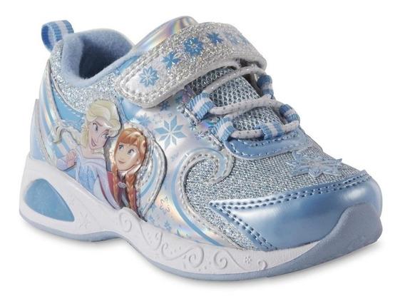 Zapatos Frozen Con Luces Importadas