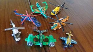 Lote 8 Aviões Matchbox - Hotwheels - Outros - De 1989 À 2013