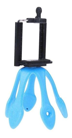 Mini Tripé Flexível Gekko Para Câmera Compacta E Celular