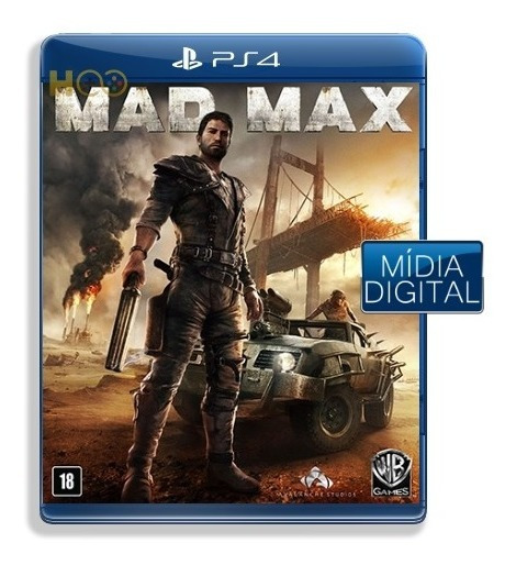 Mad Max - Ps4 Cod Psn I Entrega Imediata