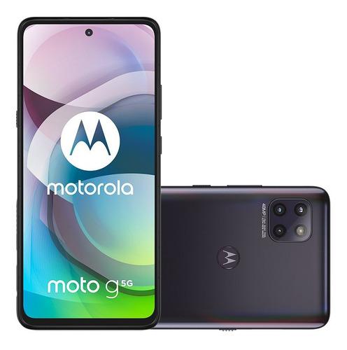 Celular Smartphone Motorola Moto G 5g Xt2113 128gb Preto - Dual Chip