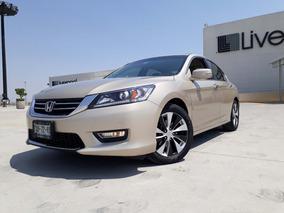 Honda Accord 2013 Exl 4 Cilindros Piel Quemacocos Led