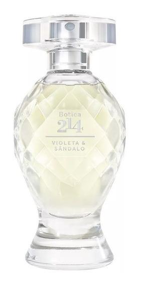 Botica 214 Eau De Parfum Violeta & Sândalo 75 Ml O Boticário Envio Imediato - 12 Vezes Sem Juros - Frete Grátis -