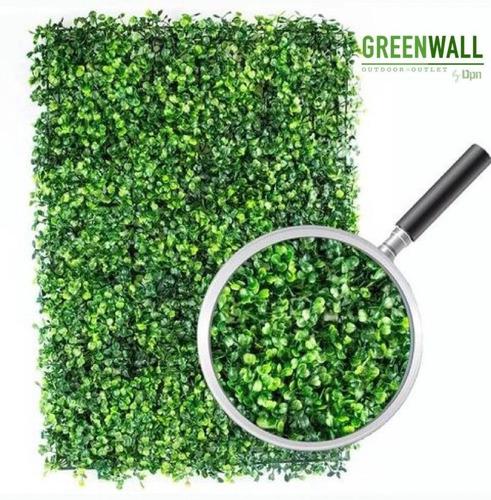 Imagen 1 de 5 de 50 Pzas Muro Verde Follaje Artificial 60x40 Cm (greenwall)