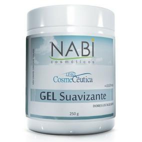 Gel Nabi Suavizante 250g Nabi Cosméticos® Cx C/ 25 Un