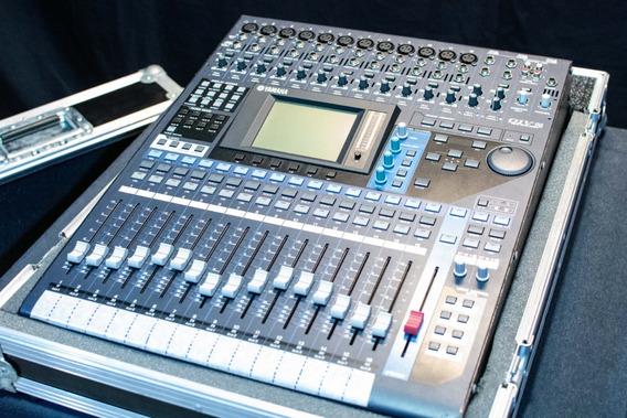 Mesa De Som Mixer Digital Yamaha 01v96 Vcm Com Hard Case
