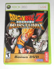 Dragon Ball Z Burst Limit Original Completo Xbox 360 Cr $15