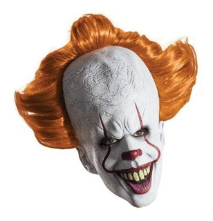 Mascara Payaso Asesino It Pennywise Licenciada Latex