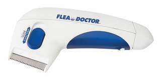 Peine Eléctrico Mata-pulgas De Mascotas Original Flea Doctor
