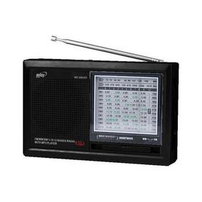 Rádio Fm Som Midi Md-398 Sd / Usb - Novo