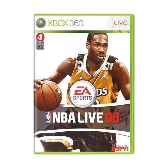 Nba Live 08 Xbox 360 Mídia Física Pronta Entrega