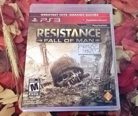 Resistance 1 Fall Of Man Pt Br Mídia Física Ps3 Frete 11,98