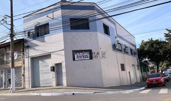 Galpão Para Alugar, 380 M² Por R$ 7.000/mês - Mooca - São Paulo/sp - Ga0025