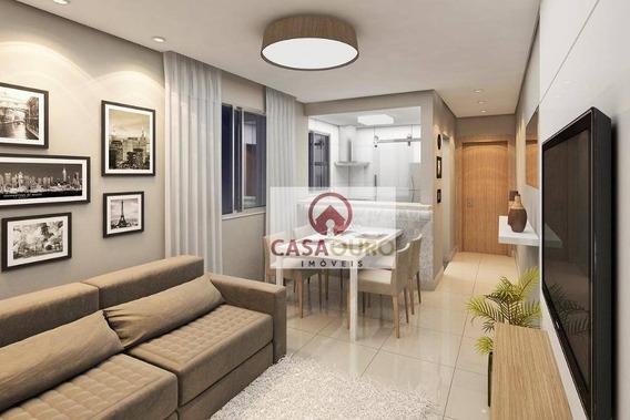 Apartamento Com 1 Quarto À Venda, - Sagrada Família - Belo Horizonte/mg - Ap0805