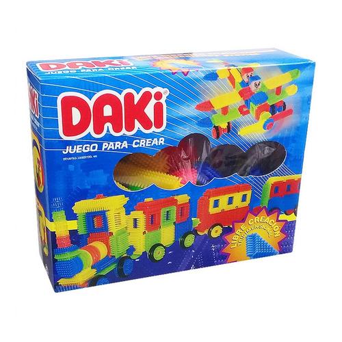 Daki Caja 60 Piezas Bloques Didácticos Ploppy 117906