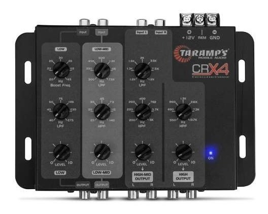 Crossover Taramps Crx4 4 Vias Eletrônico Som