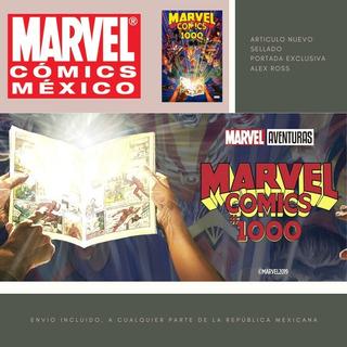 Marvel Comics #1000 Portada Variante Alex Ross Marvel México