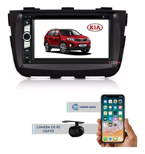Central Multimídia Kia Sorento 2014 2015 Dvd Tv Bluetooth