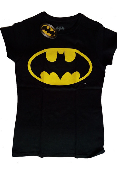 Playera Batman Dama Dc Comics Original Envio Gratis