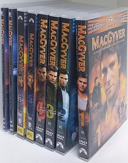 Macgyver Profissão Perigo Série 1ª À 7ª Temp. # Frete Grátis