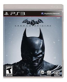 Juego Batman Arkham Origins Ps3 Ibushak Gaming