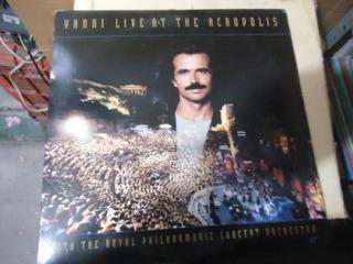 Yanni Live At The Acropolis Laser Disc