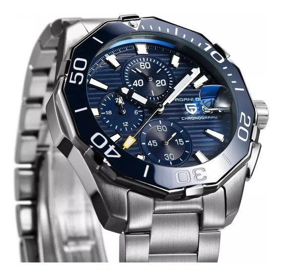 Reloj Pagani Design Aquaracer - Cronógrafos Acero Estuche