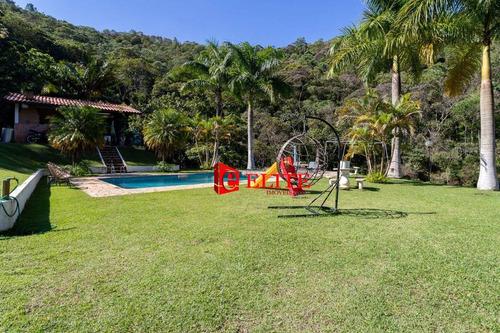 Imagem 1 de 30 de Chácara Com 2 Dormitórios À Venda, 48000 M² Por R$ 1.100.000,00 - Zona Rural - Caçapava/sp - Ch0058