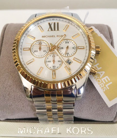 Relógio Michael Kors Mk8344 Lexington Masculino Original