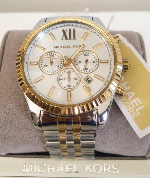 Relógio Michael Kors Masculino Mk8344 Original Promoção