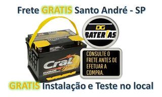 Bateria De Carro Cral 60ah Focus/sedan/ghia/hatch, Mondeo