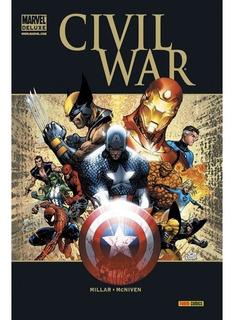 Marvel Deluxe - Civil War , Tapa Dura, Panini