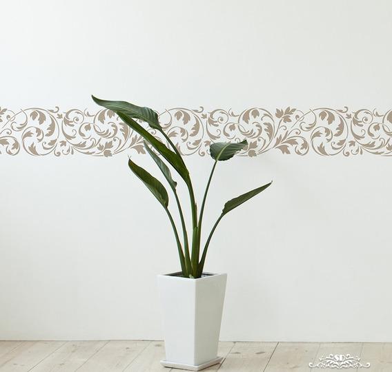 Stencil Rampant Plantilla Decorativa Reusable Para Pintar