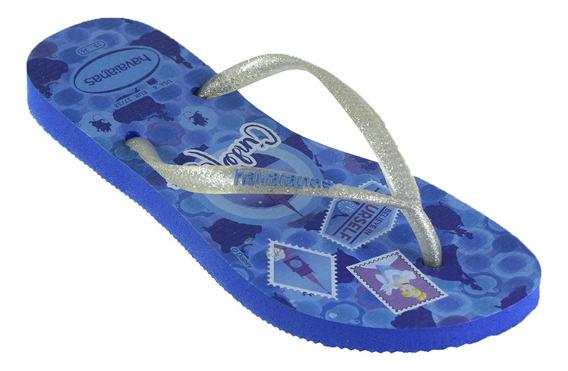 Ojotas Havaianas Sl Princess Niños Blue