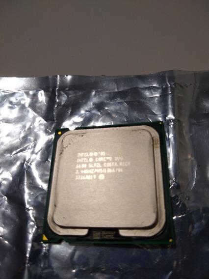 Processador Core 2 Duo 6600 2.4ghz Lga 775. Cooler Original.