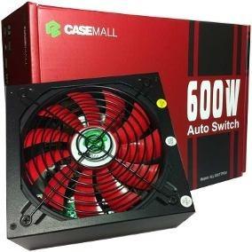 Fonte Atx Casemall 600w Auto Switch Cod:60