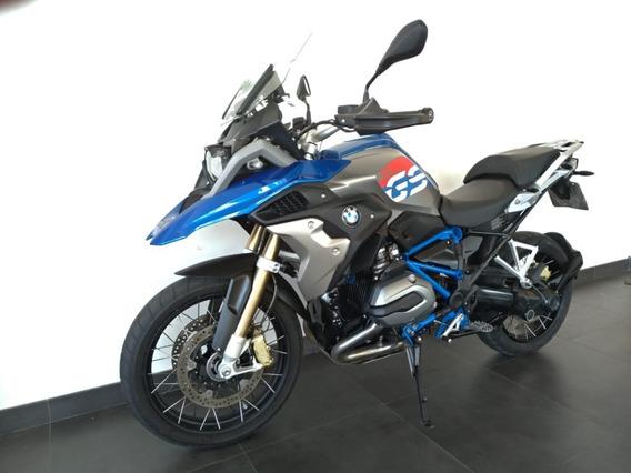 Bmw R 1200 Gs 2018 Azul .