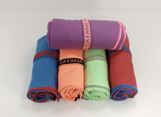 Pack X2 Catana Toallon De Secado Rapido 1.40x0.70cm A. 1170