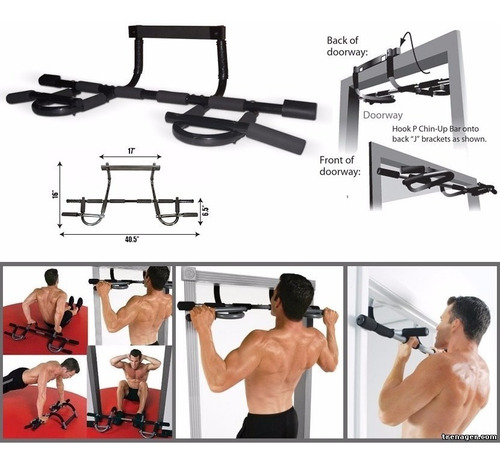 Barra Para Abdominales Iron Gym