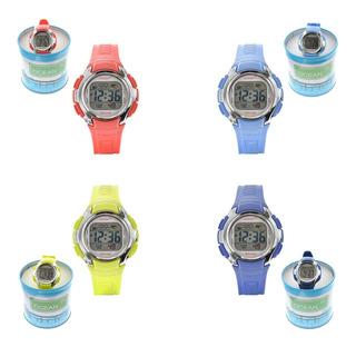 Reloj Mujer Deportivo Sumergible Cronómetro Ocean Od01-015