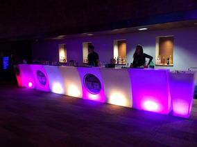 Arriendo Bar Led / Barra Movil Para Eventos / Bar Movil