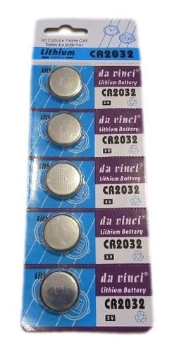 Pila Batería Lithium Cr2032 Pack De X5 Relojes Controles