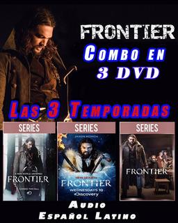 Frontier Serie De Netflix Las Tres Temporadas En 3 Dvd