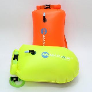 2 Boyas De Seguridad Con Bolsa Para Natación Aguas Abiertas